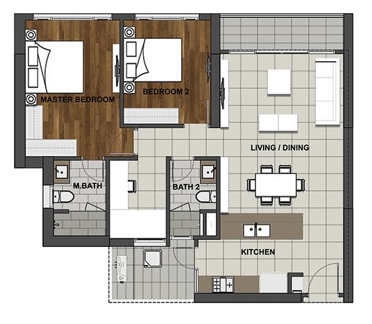 BL-1 104.6 m2 - 93.3 m2